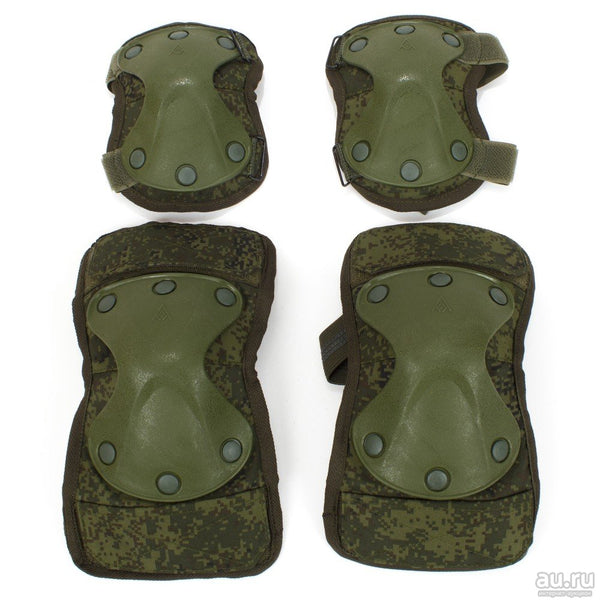 Russian Army Ratnik 6B51 Elbow & Knee Protection Kit EMR (Digital Flora)
