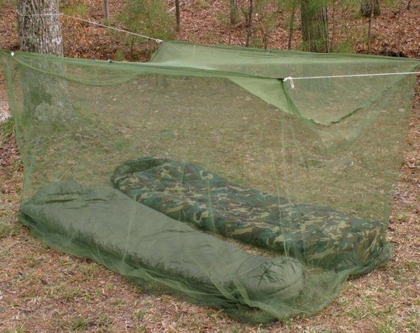 Russian Army Shelter Anti-Mosquito Olive
