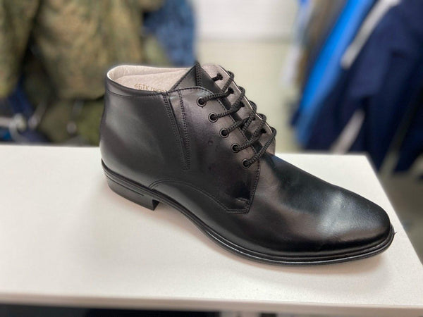 Russian Army Soldiers Shoes Black