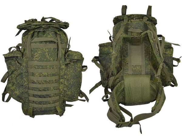 Russian Army Special Purpose Units Raid Backpack 60+20L EMR (Digital Flora)