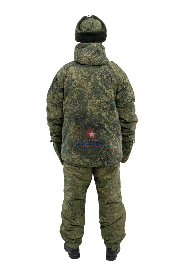 Russian Army VKPO (VKBO) Layer 8 Winter Suit EMR (Digital Flora)