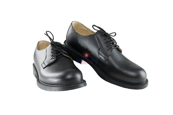 Russian Army Leather Shoes Black