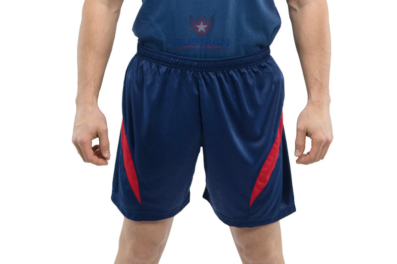 Russian Army Shorts Blue