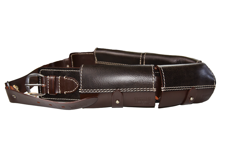 Stich Profi Western Closed Cartridge Belt Leather Black