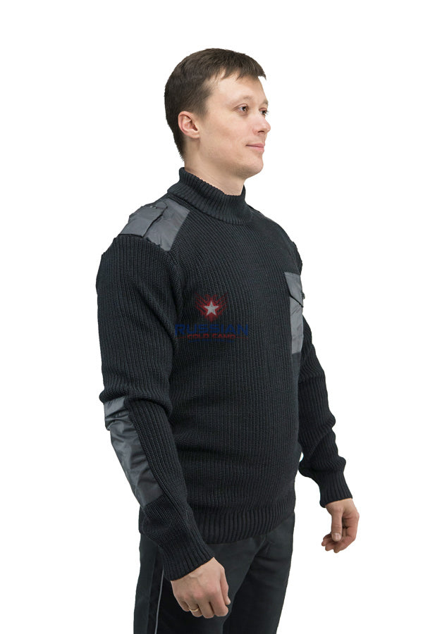 Russian Army Sweater Black