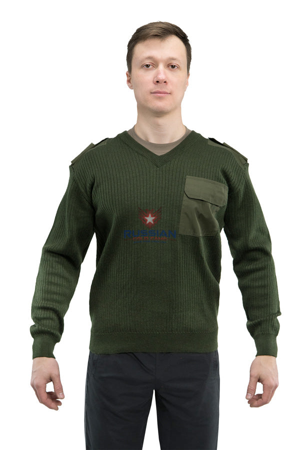 Russian Army Sweater Olive