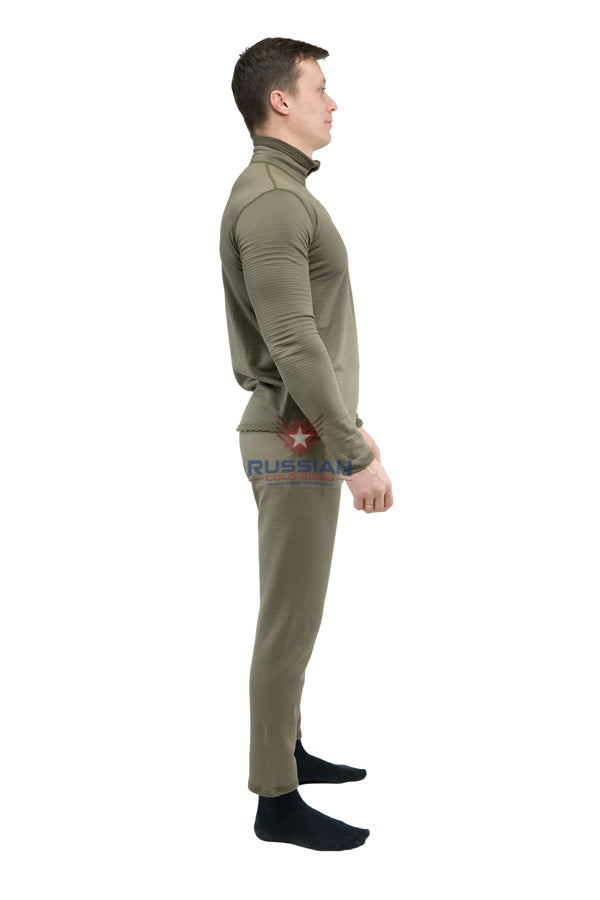 Russian Army VKPO (VKBO) Layer 2 Underwear Long Fleece Khaki