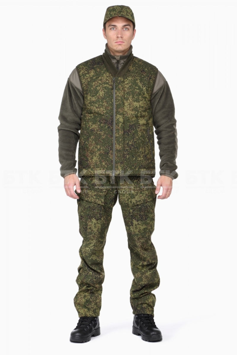 Russian Army VKPO (VKBO) Layer 7 Winter Vest EMR (Digital Flora)