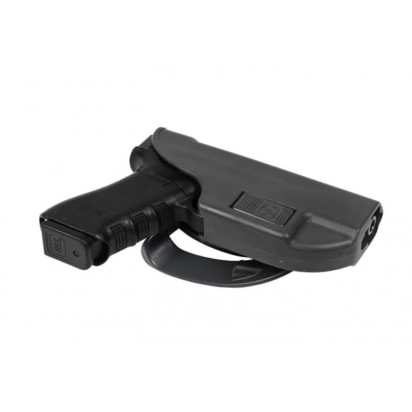 Alpha holster for Glock 17 fastening to the belt