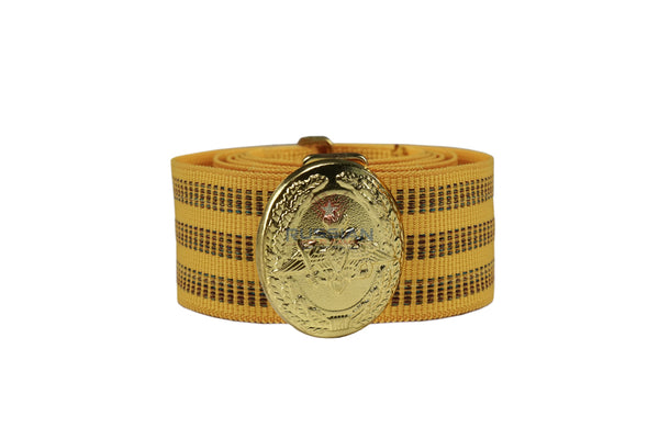 Russian Army Officer Ceremonial Belt Yellow