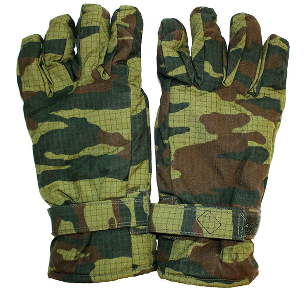 Russian Army Gloves in Flora