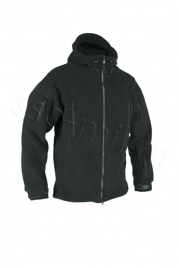 SSO Lynx Fleece Jacket in Black