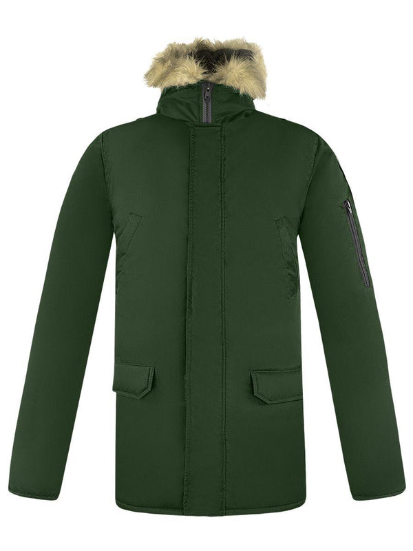 Russian Army Officers Alaska Winter Jacket Olive