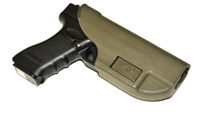 Stich Profi Alpha Holster Fastening To The Belt For Glock 17 Olive