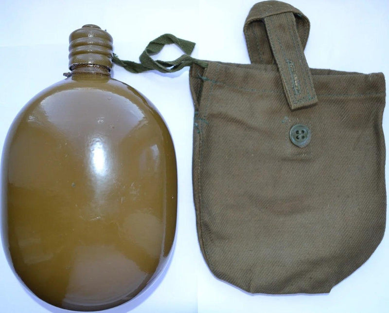 USSR Flask With Cover Khaki