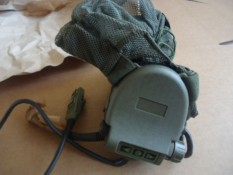 Russian Army Ratnik GSSH-01 6M2-1 Active Headphones with Headset