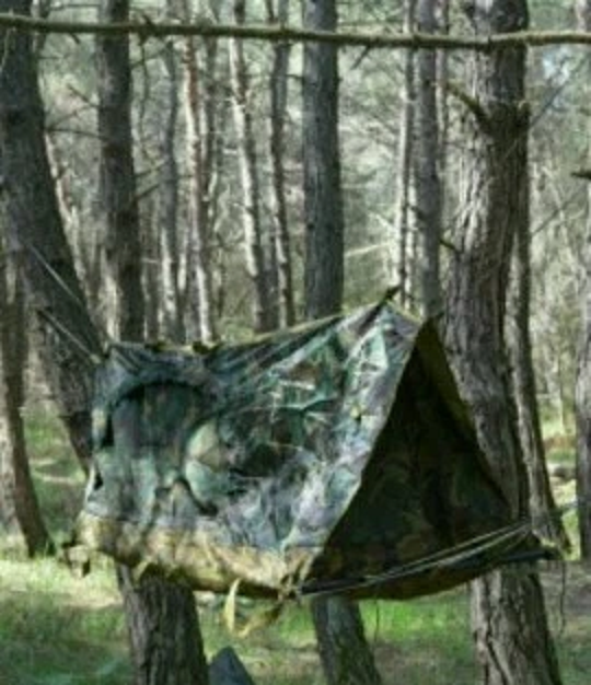 Russian Army Mountain Special Forces Tent-Hammock