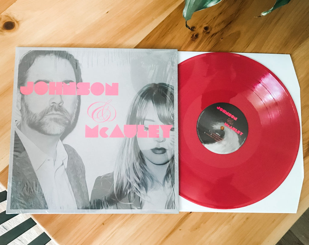 Johnson and McAuley EP Vinyl Record [SPECIAL EDITION PINK]