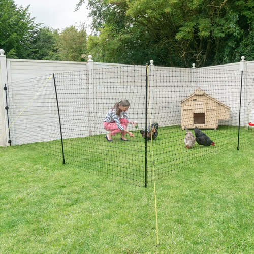 Wall Connection Kit for Omlet Chicken Fencing