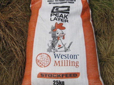 Westons Peak Layer Pellets