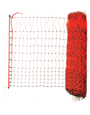 Poulnet Electric Chicken Fencing - Orange