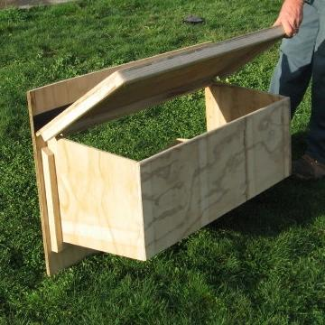 External Timber Laying Boxes