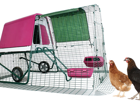 Eglu Go UP - Raised Chicken Coop