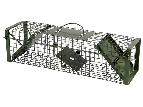 Live Capture Cage Trap (Small) DOUBLE ENTRY