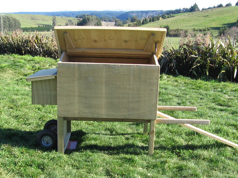 Wheelbarrow Hen House
