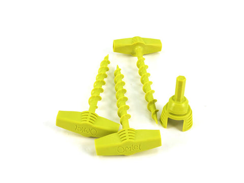 Omlet Screw Pegs - 12 Pack
