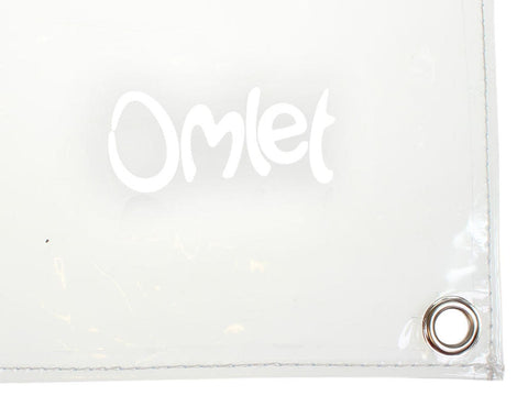 Clear Rain Cover for Omlet Run - 1.5m x 0.9m (810.0111)