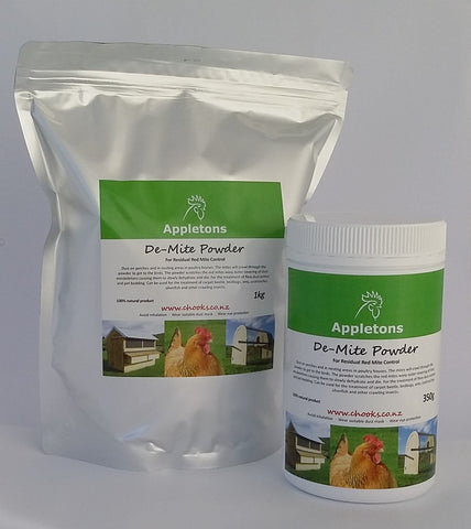 Appletons De-Mite Powder (Diatomaceous Earth)