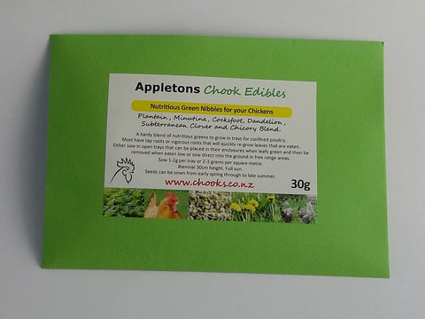 Appletons Chook Edibles
