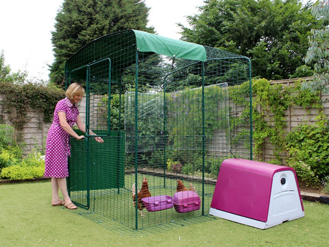 Eglu House + Connection Kit for Outdoor Chicken Run
