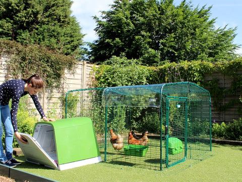 Eglu Go House + Connection Kit for Outdoor Chicken Run