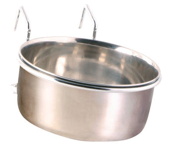 Rabbit Feed Bowl 600ml - 12cm + Holder