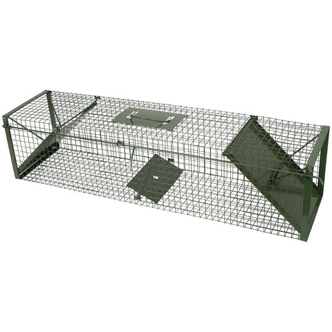 Live Capture Cage Trap (Large) DOUBLE ENTRY