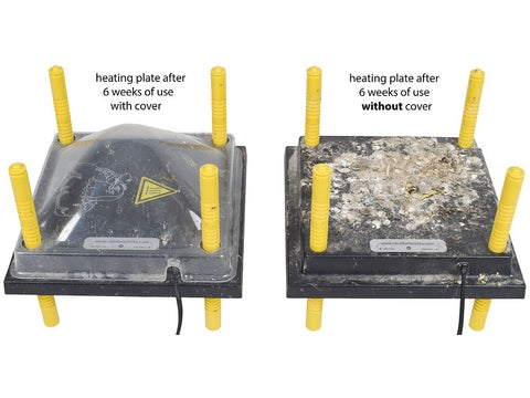 Protective Covers for Comfort Heat Plates