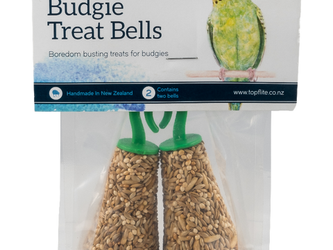 Topflite Budgie Seed Bell Twin Treat Pack