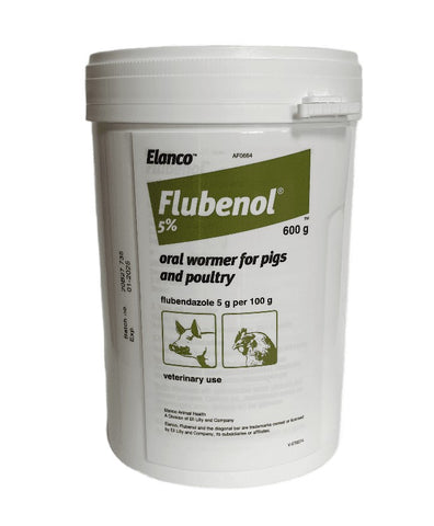 Flubenol 5% - Poultry and Pig Wormer 600g