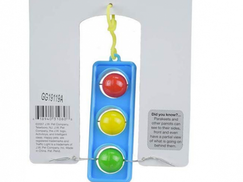 JW Bird Traffic Light Bird Toy
