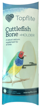 Topflite Single Cuttlefish Bone with Holder