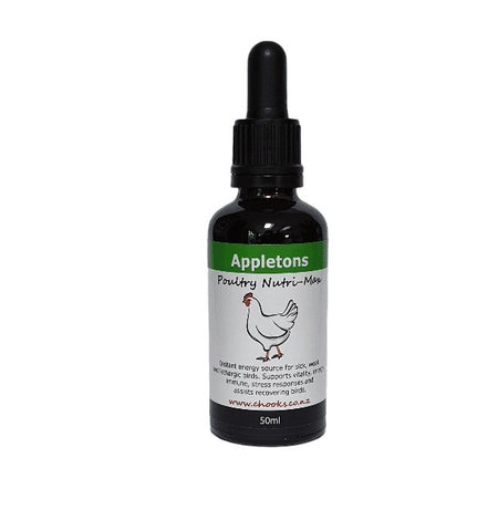 Appletons Poultry Nutri-Max with Fenugreek and Kelp 50ml