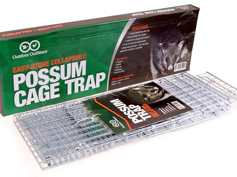 Cat or Possum Trap (Live Capture Cage Trap)