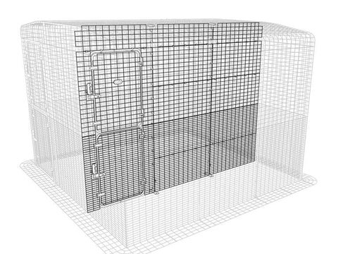 Walk-In Outdoor Pet Run Partition High - 3 Panels
