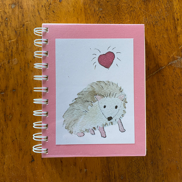 Hedgehog Love Journal