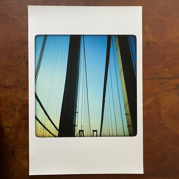 Deleware Memorial Bridge Art Print