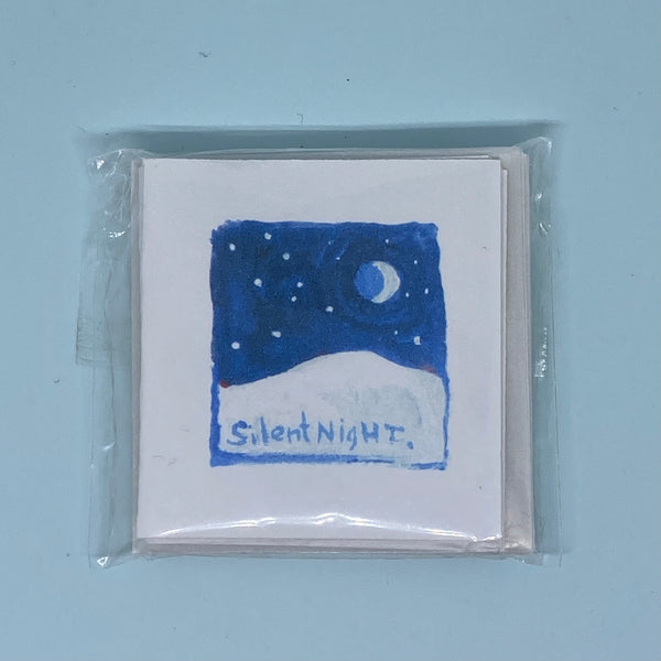 Silent Night Mini Card 5 Pack