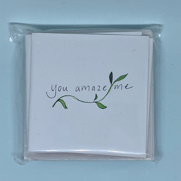 You Amaze Me Mini Card 5 Pack