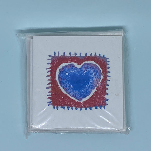 Stitch Heart Mini Card 5 Pack